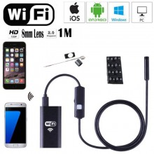 USB эндоскоп c Wi Fi 1 метр для IOS, Android, Windows