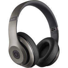 Beats by Dr. Dre Studio 2 Over-Ear Headphones Titanium (MHAD2)