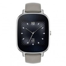 ASUS ZenWatch 2 WI502Q - (Silver/Khaki Leather)