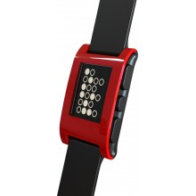 Pebble Watch (Cherry Red)