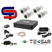 Tecsar AHD 4OUT + HDD 500GB (6756)