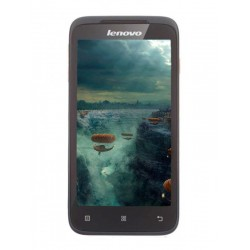 Lenovo A398t brown