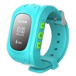Smart Baby W5 GPS Smart Tracking Watch Blue (Q50)