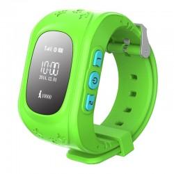 Smart Baby W5 GPS Smart Tracking Watch Green (Q50)
