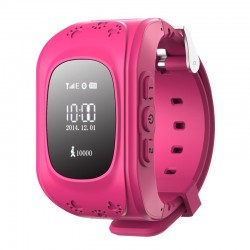 Smart Baby W5 GPS Smart Tracking Watch Pink (Q50)