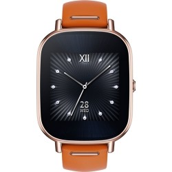ASUS ZenWatch 2 WI502Q - (Rosegold/Leather Orange)