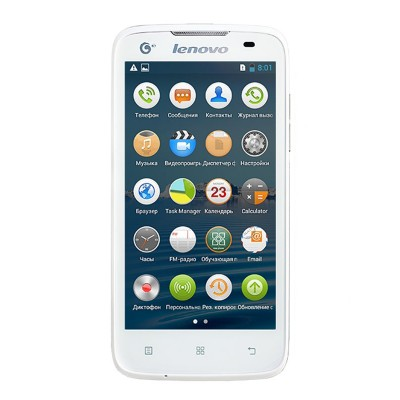 Lenovo IdeaPhone A378t (White)