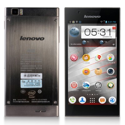 Lenovo IdeaPhone K900 (Silver)