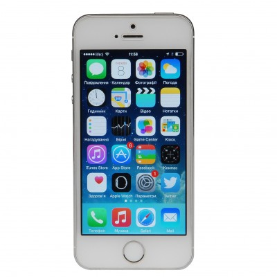 Apple iPhone 5S 16GB (Silver), RFB
