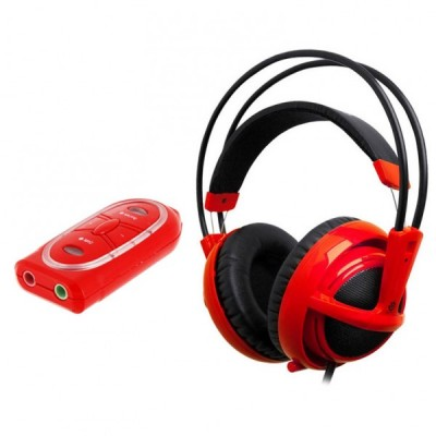 SteelSeries Siberia v2 USB (Red)