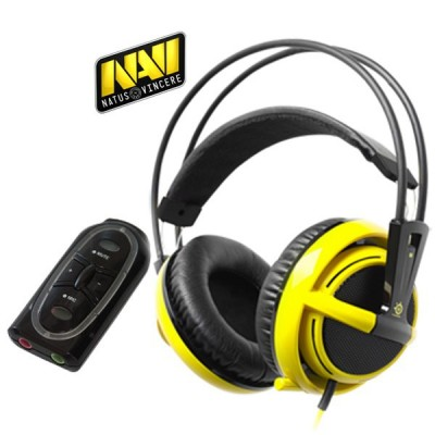 SteelSeries Siberia v2 USB (Yellow) Natus Vincere - Navi Edition