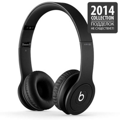 Beats by Dr. Dre Solo HD Monochromatic Black (848447007370)