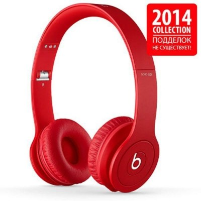Beats by Dr. Dre Solo HD Monochromatic Red (848447007592)