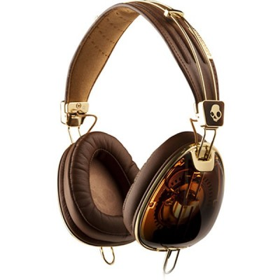Skullcandy Aviator Brown/Gold