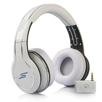 SMS Audio SYNC by 50 Wireless Over-Ear (White)