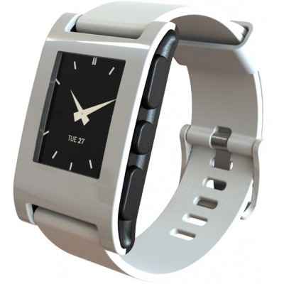 Pebble Watch (Arctic White)