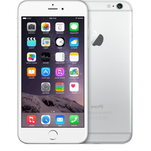 apple iphone 6 plus 64gb silver. Black Bedroom Furniture Sets. Home Design Ideas